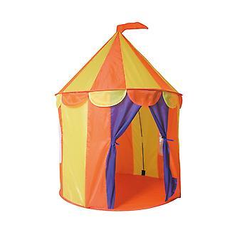 Paradiso Toys Tente de jeux pour enfants Circus 02834 Sac de rangement de fenêtre pliable