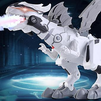 Large Spray Mechanical Dinosaurs With Wing Cartoon Electronic Walking Animal