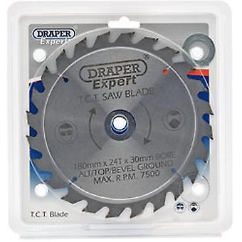 Draper 9468 Expert Tct Circular Saw Blade 180x30mmx24T
