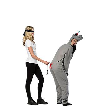 Adult Pin the Tail on the Donkey Novelty Stag Night Fancy Dress Costume