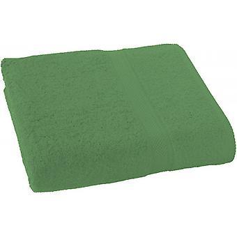 bath towel 100 x 150 cm cotton green