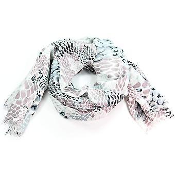 Snake Skin Print Scarf