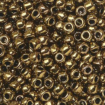Toho Seed Beads, Round 8/0 #223 'Antique Bronze', 8 Grams