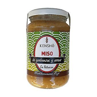 Miso rice and chickpeas eco 380 g of cream