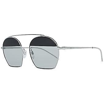 Ray-Ban 0EA2086 Sunglasses, Black (Silver), 56 Woman