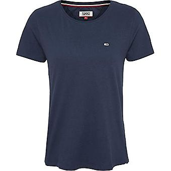 Tommy Jeans Tjw Soft Jersey Tee Sport Jersey, Azul (Twilight Navy), 38 (One Size: X-Small) Mujeres