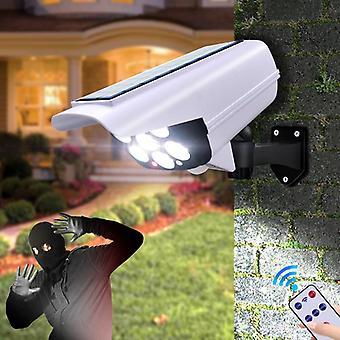 Датчик движения безопасности манекен камеры беспроводной наружной солнечный свет