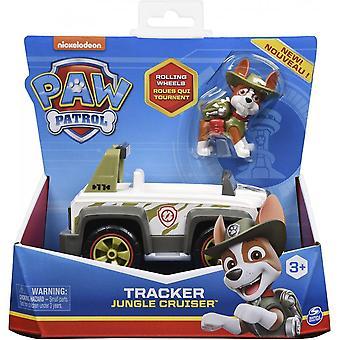 Paw Patrol Tracker Jungle Cruiser Køretøj & Figur Set