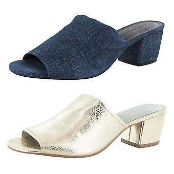 Lori Goldstein Collection Womens Thalessa Block Heel Sandal Shoe
