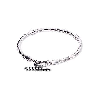 Pandora Øyeblikk T-Bar Snake Chain Armbånd