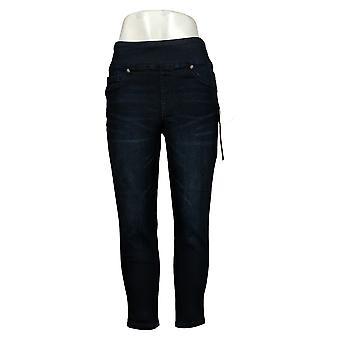 DG2 By Diane Gilman Women's Petite Jeans Comfort Waist Skinny Blue 733923