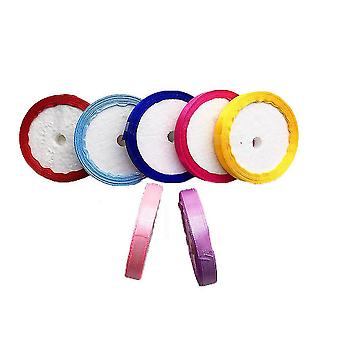 New Colorful Ribbons 90 Yards 10 Colors 1cm Width Wedding Christmas Decoration ES6740