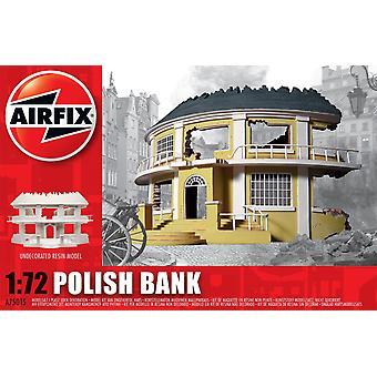 ポーランド銀行樹脂台無し建物エアフィックスモデルキット
