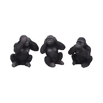Three Wise Apes Ornaments