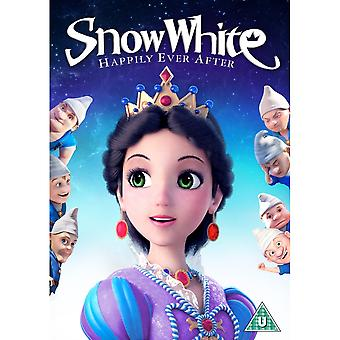 Snow White Happily Ever After DVD