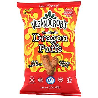 Veganrobs Puffs Dragon, Koffer van 12 X 3.5 Oz
