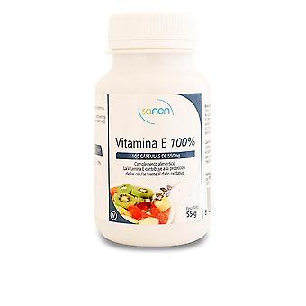 Sanon Sanon Vitamina E 100% 100 Cápsulas De 550 Mg Unisexe