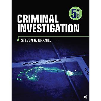 Criminal Investigation by Steven G Brandl