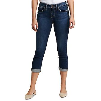 Silver Jeans Co. Womens Avery Cropped Skinny Jeans