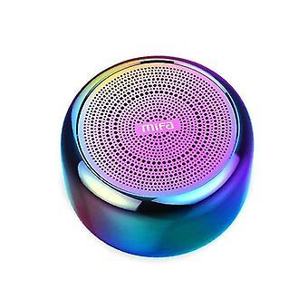 Wireless Bluetooth Speaker Super Bass Portable Subwoofer 3D Stereo SoundSpeakers(Aurora)