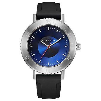 Klasse14 Volare Taras Silver 44mm Black Silicone Strap WVT19SR001M Watch