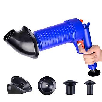 Air Pump Cleaner Dredge Toilet Plunger Blaster Sink Pipe Clogged Remover Bathroom Pipe Bathtub Kitchen Toilet Cleaning Tools