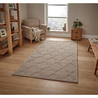 HK 8583 Beige  Rectangle Rugs Plain/Nearly Plain Rugs