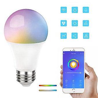 E27 rgb+cct 9w smart bulb ewelink app led lamp works with amazon alexa google home 220-240v