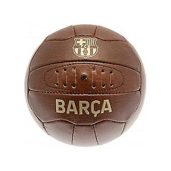 Barcelona FC Faux Leather Retro Football