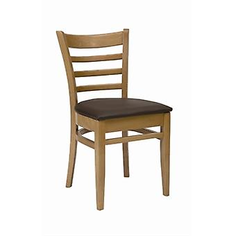 Pair Of Fully Assembled Dalia Chair With Seat Pad