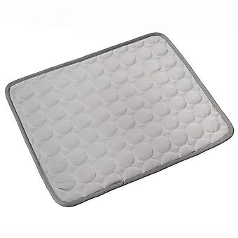 Household Pet Cooling Pad Is Easy To Clean And Dry, Suitable For Cats And Dogs (gray)