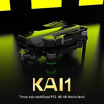 Remote control helicopters kai one pro drone 8k hd mechanical 3 axis gimbal dual camera 5g wifi gps professional aerial