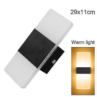 Led light bulbs led wall light-up down cube indoor outdoor sconce lighting lamp fixture decor hr 12