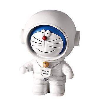 Astronauta Piggy Bank Dekoracja Ozdoba Desktop Do Wystrój sypialni