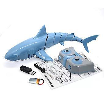 Telecomanda Shark 2.4g telecomanda de pește jucărie pentru copii de vară de apă jucărie Super Long Baterie de viață jucărie de pește