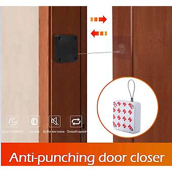 Punch-free Automatic Door Closer 500g-1000g Tension Closing Device
