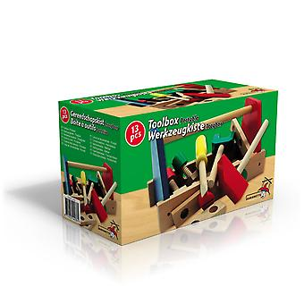 木製ポータブル] ツールボックスのツールに子供グッズ活動が含まれています。