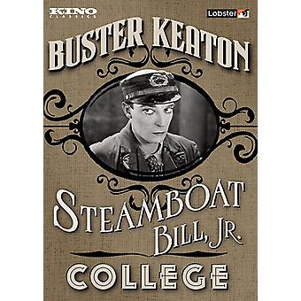 Steamboat Bill Jr. / College [DVD] USA import