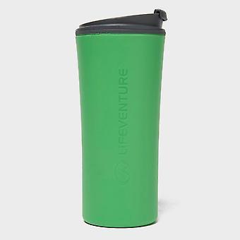 New Lifeventure Ellipse Travel Mug Camping Cooking Eating Green