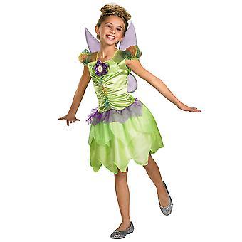 Tinker Bell sateen kaari Tinkerbell Fairy Pixie Fairytale Disney tyttöjen puku