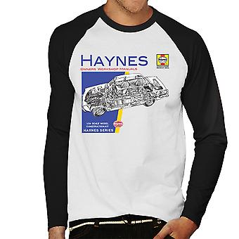 Haynes Owners Workshop Manual 0034 Rover 2200 Men's Baseball Long Sleeved T-Shirt