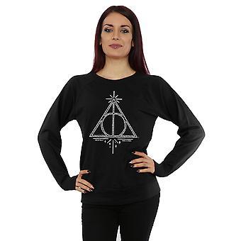 Harry Potter Women's Deathly Hallows Symbol Sweatshirt