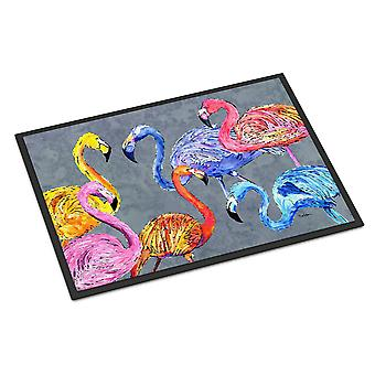 Carolines Treasures  8871JMAT Flamingo Six Senses Indoor or Outdoor Mat 24x36 Do