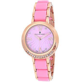 Cv7613, Christian Van Sant Women'S Eternelle Uhr