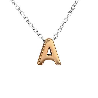 A - 925 Sterling Silver Plain Necklaces - W29939x