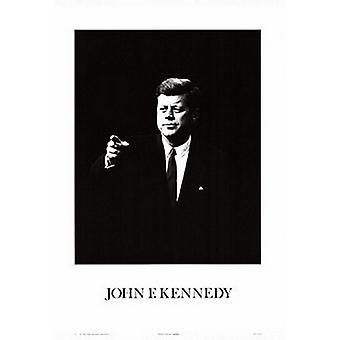 הדפס פוסטר של ג'ון פ. קנדי (20 x 28)