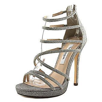 Nina Womens Finessa Open Toe Casual Strappy Sandals