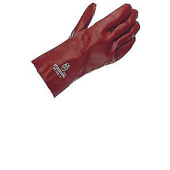 Adulte unisexe gants PVC Gauntlet