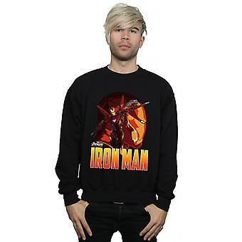 Marvel mænds Avengers Infinity krigen jern mand karakter Sweatshirt