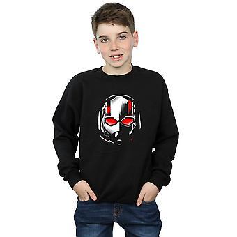 Marvel Boys Ant-Man And The Wasp Scott Mask Sweatshirt